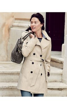 DKNY Harper Trench Coat