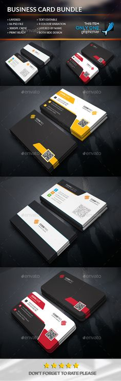 Simply Business Card Bundle - Business Card Template PSD. Download here: http://graphicriver.net/item/simply-business-card-bundle/12043353?s_rank=1780&ref=yinkira