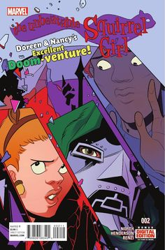 Preview: The Unbeatable Squirrel Girl #2, Story: Ryan North Art: Erica Henderson Covers: Erica Henderson & Brittney Williams Publisher: Marvel Publication Date: November 25th, 2015 Pr...,  #All-Comic #All-ComicPreviews #BrittneyWilliams #Comics #EricaHenderson #Marvel #previews #RyanNorth #TheUnbeatableSquirrelGirl