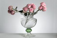 CRESIA Vase - handmade glassware >> shop on www.gabrielaseres.com Vases, Shop, Handmade, Design, Home Decor, Hand Made, Decoration Home, Room Decor