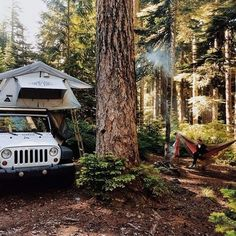 Perfect camping spot for a Jeep
