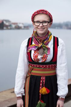 Costumes Around The World, Folk Costume, Norway, Scandinavian, Traditional, Inspiration, Outfits, Beauty, Style