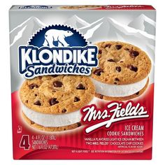 Buy Klondike Ice Cream Sandwiches Mrs Fields ct) from Jewel-Osco online and have it delivered to your door in as fast as 1 hour. Ice Cream Cookie Sandwich, Ice Cream Cookies, Sandwich Cookies, Mint Cookies, Frozen Desserts, Cookie Desserts, Easy Desserts, Klondike Ice Cream, Mrs Fields Cookies