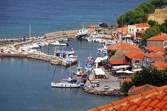 Port of Molyvos village, Lesvos island, Northeast Aegean sea, Greece Skiathos, Corfu, Crete, Greece Pictures, Chios, Small Island, Greek Islands, Santorini, Athens