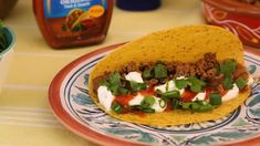 Make your Cinco de Mayo fiesta both delicious and easy this year with Ortega. Taco Bell Recipes, Mexican Food Recipes, Ethnic Recipes, Daisy Sour Cream, Nibbles For Party, Ground Beef Tacos, Taco Sauce, World Recipes, Ground Beef Recipes