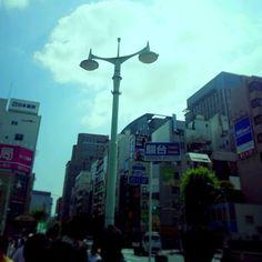 Kenichi Kamio - Tokyo Ochanomizu Bridge from Today's piano piece  May.31st,2015  「東京 御茶ノ水橋」 楽器店が多く、ギター、サックスなど、ウィンドウも楽しい街。