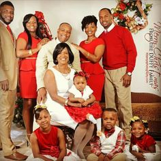 christmas family pictures - Black Family Christmas Pictures