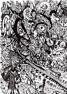 horror vacui art - Google Search