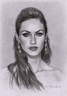 Megan Fox by thedrawinghands.deviantart.com on @deviantART