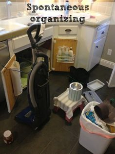 Spontaneous Organizing - a GREAT thing for those of us who are a little ADD!