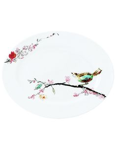 Lenox Simply Fine Dinnerware, Chirp Medium Platter