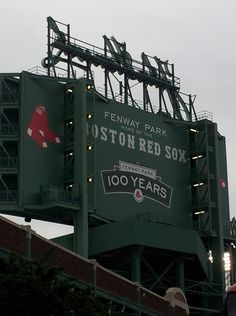 Watch the Boston Red Sox play at Fenway Park.  Must do!