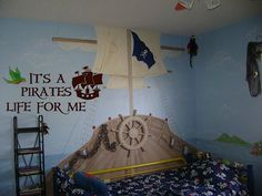 Pirate Bedroom, whoa