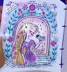 Disney Princess Art, Cute Disney, Rapunzel, Disney Love, Disney Rapunzel, Art, Doodle Inspiration, Disney And Dreamworks, Tangle Art