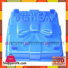 On Sale: Silicone Square Cake Pan  Happy Birthday Gift Box Mold in Pakistan Price Rs. 500 https://www.shopperspk.com/product/silicone-square-cake-pan-happy-birthday-gift-box-mold/
