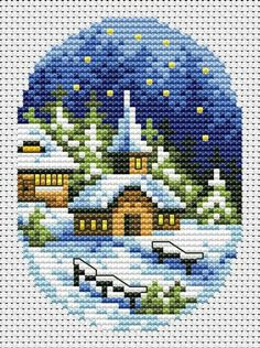 Christmas Village Cards 2 Cross Stitch Pattern Christmas Card Set Cross Stitch Chart PDF I. Cross Stitch Christmas Cards, Xmas Cross Stitch, Cross Stitch Cards, Cross Stitch Borders, Christmas Cross, Cross Stitch Designs, Cross Stitching, Cross Stitch Embroidery, Embroidery Patterns
