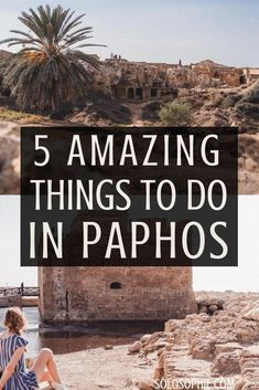 5 amazing things to do in Paphos, Cyprus. Here's a guide for what to do in the beautiful secret town of Pafos (archaeological sites, Tombs of the Kings etc) #BeautyHacksLips Travel Route, Europe Travel Guide, Places To Travel, Places To See, Europe Destinations, Paphos Old Town, Cyprus Paphos, Cyprus Holiday, Visit Cyprus