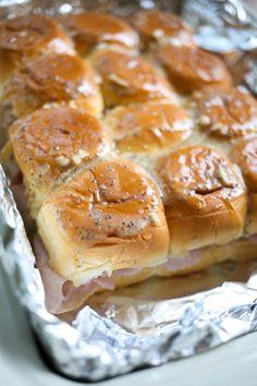 hawaiian ham and cheese sliders-11