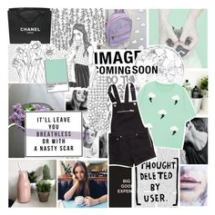 """""""where do broken hearts go?"""" by fashionisall12 ❤ liked on Polyvore featuring BCBGeneration, Prada, Chanel and H&M"""