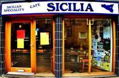 Little sicilian cafe, great sicilian treats!