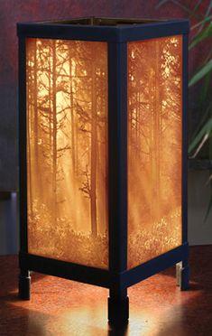 USA- Lithopane Luminaries by Porcelain Garden