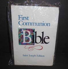 First Communion Bible Saint Joseph Edition NAB Catholic Book Publishing NIP