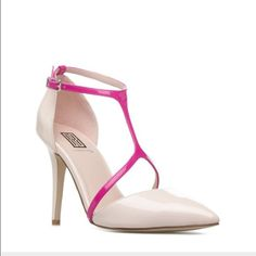 Nude and pink Pumps Super gorgeous have it in black and white too Shoe Dazzle Shoes Heels