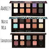 Side by side comparison of ABH eyeshadow palettes: Amrezy, Maya Mia, Tamanna Some of my fav palettes