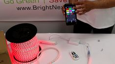 How to install RGB Strip Light Compatible with Bluetooth and phone application Wie installiert man RGB Strip Light Kompatibel mit Bluetooth und Telefonanwendung, [. Led Room Lighting, Room Lights, Strip Lighting, Lighting Ideas, Small Room Bedroom, Room Decor Bedroom, Light Bedroom, Application Telephone, Video Game Decor