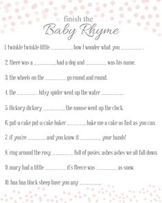 75 Baby Shower Game Ideas You Must See | Baby Bingo, Baby Shower Games And  Gaming