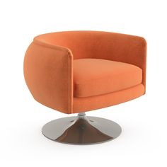 D'Urso Swivel Chair | Knoll, Joseph D'Urso
