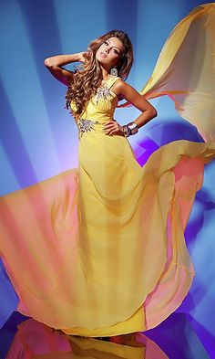 yellow dress <3