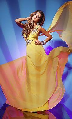 yellow dress <3