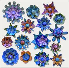 "for ""Modular Flowers"" - a workshop with carol simmons"