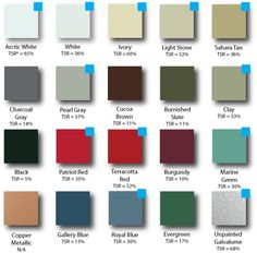 Metal Roof Colors For Houses | The House Of Metal Roofs :: Your Metal  Roofing
