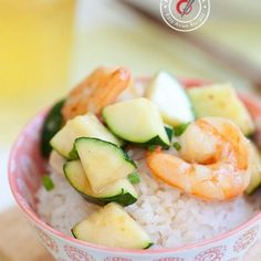Zucchini and Shrimp Stir Fry