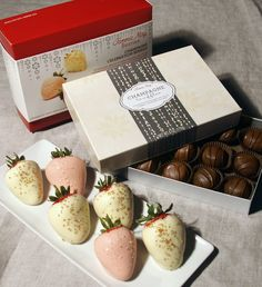 #FMBerries Full Half Dozen Champagne Berries & Truffles $44.99