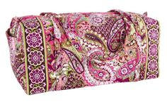 Vera Bradley XL Duffel Very Berry Paisley * Find out more about the great product at the image link.-It is an affiliate link to Amazon.