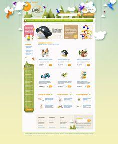 Toys'4'kids by Piotr Kazmierczak, via Behance