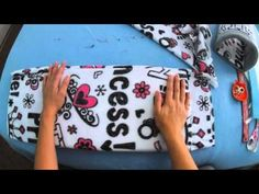 DIY tutorial on small pet guinea pig cozy/tunnel - YouTube