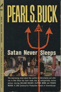 Vintage Satan Never Sleeps by Pearl S Buck by PaperbackHoarder, $4.00