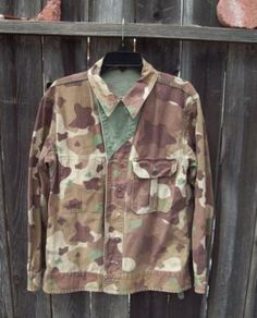 Experimental WW2 camo, looks a lot like modern day Multicam but with a larger pattern.