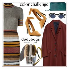 """""""multicolor"""" by paculi ❤ liked on Polyvore featuring Diesel, Zara, DUDU, Alice + Olivia, Matsuda, Leather and dudubags"""