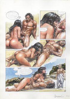 Erwachsenen Comic erotisch explizit