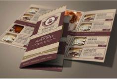 Coffee Shop Brochure Template Premium Coffee Menu Templates By Coffee Shops  In London