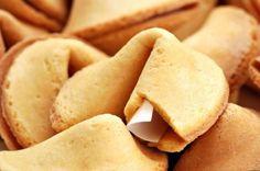 Receta de galletas de la fortuna