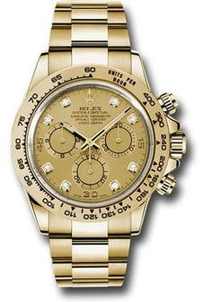 Rolex Watches: Daytona Yellow Gold - Bracelet 116508 chd