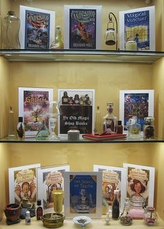 Ye Old Magic Shop | Library Book Display