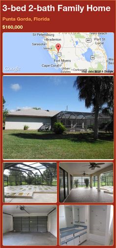 3-bed 2-bath Family Home in Punta Gorda, Florida ►$160,000 #PropertyForSale #RealEstate #Florida http://florida-magic.com/properties/85496-family-home-for-sale-in-punta-gorda-florida-with-3-bedroom-2-bathroom