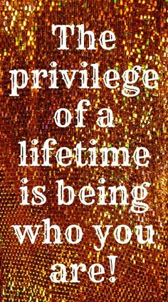 Be yourself. You matter!  True You Counseling!